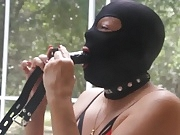 Training to use a penis gag more permantly