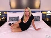 Horny Blonde MILF Sucks and Fucks Your Cock POV