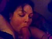 British milf slut gets her face fucked with facial
