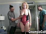MILF Gets Sloppy Creampies