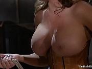 Huge tits mistress anal bangs male
