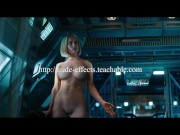Alice Eve COMPLETELY NAKED in STRIPPING SCENE STAR TREK INTO DARKNESS