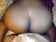 BBW redbone ride the dick