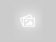 Candid Teen Mom Walking in Blue Shorts on the Street City