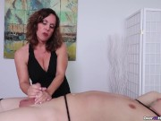 Milf Candi made Him Cum - Milf Massage